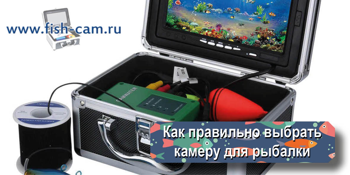 Как правильно выбрать камеру для рыбалки