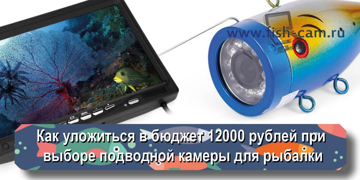 Как уложиться в бюджет 12000 рублей при выборе подводной камеры для рыбалки