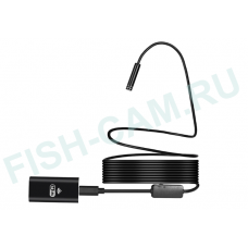 Камера для рыбалки Wifi, 8мм, 5м