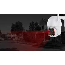 ptz WIFI камера 5x zoom  32gb поворотная 330 градусов по горизонтали и 90 градусов по вертикали