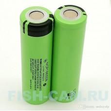 Аккумулятор Panasonic 18650 Li-ion 3.7В 3400mAh Тритон (2шт) + Кейс