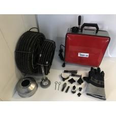 Машина для прочистки канализации GQ-100-900W пружины 16 мм