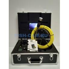 Эндоскоп Тритон технический для инспекции труб 50 метров с записью 2-cam
