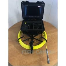 Технический эндоскоп 9 дюймов ТРИТОН технический для инспекции 20 метров с записью
