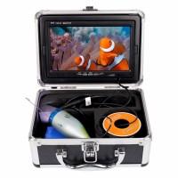 Камера для рыбалки с 12  ик диодами 1000TVL + кабель кевлар 15 метров.