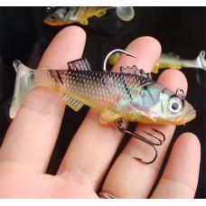 Рыбка силикон