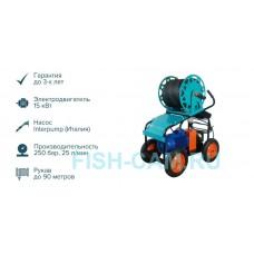 ГИДРА-3Э-250-25 УНИВЕРСАЛЬНАЯ (ЭЛЕКТРИЧЕСКАЯ 380В, Длина РВД 30м)