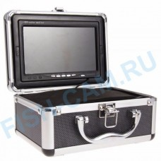 Камера для подводной рыбалки с функцией записи 1000TVL HD Cam Функция DVR + 8 ГБ SDкарта Кабель кевлар 30 метров 12 ик диодов
