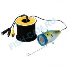 Камера для рыбалки Fishcam 1000TVL 9 ДЮЙМОВ + кабель кевлар 30 метров 12ИК+12 белых светодиодов