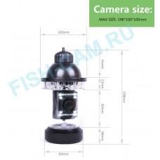 """Камера """"FishCam 360"""" 20 метров  C ФУНКЦИЕЙ ЗАПИСИ"""