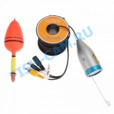 Камера для рыбалки 12 ик светодиодов 1000TVL Кабель кевлар 30 метров. 12 ик диодов