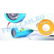 Подводная камера для рыбалки FishCam-1000 ТВЛ Кабель кевлар 15 метров 12 ик диодов