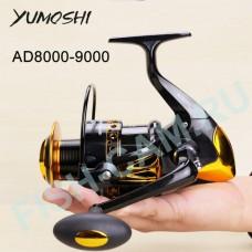 Катушка Yumoshi AD9000, 4.1:1, 660гр, 12+1 подшипников