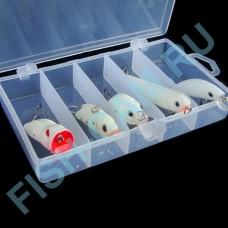 Набор флуоресцентных приманок 5 штук в коробочке