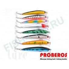 Набор воблеров Proberos 9,5 см 8,5 г, 8 штук, 0.6-1.2м